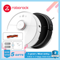 XIAOMI MIJIA Roborock S50 S55 Robot Vacuum Cleaner Household Automatic Sweeping Dust Disinfection App Smart Planning WIFI Remote