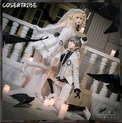 Anime preto mordomo ciel phantomhive elizabeth vestido de casamento lolita vestido uniforme cosplay traje dia das bruxas livre shipping2019