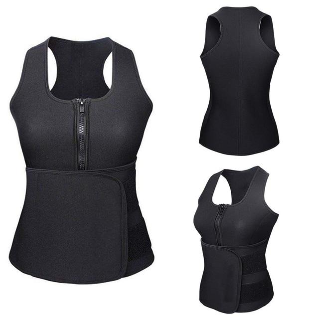 Body Sculpting Vest  Sweat Belt Fitness Thin Waist And Abdomen Fat Burning Wonderful Yoga Curve Adjustable Neoprene Nylon 5