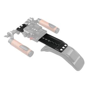 """Image 5 - Kayulin Standard ARRI 12"""" Dovetail Bridge Sled Plate For DSLR Camera Camcorder Shoulder Mount Rig"""