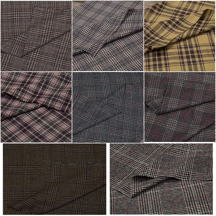 2019 Tecidos tissu africain vent britannique reconstituant des manières antiques costume en laine? Un mot pluvier grille laine tissu pantalon costume tissus