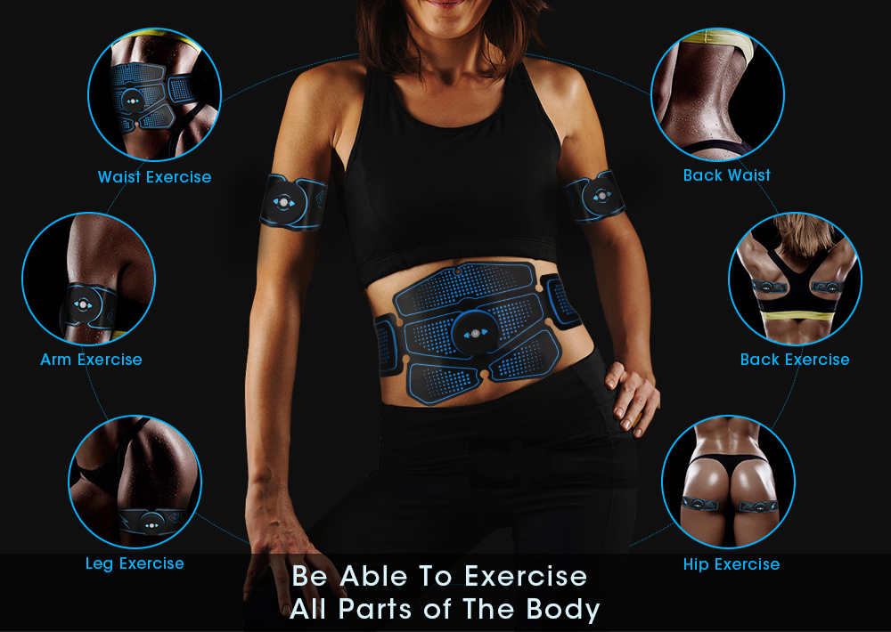 Best EMS exericser for abs, legs, biceps from Eggplantjourneys.com