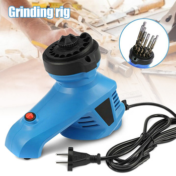 Household Drill Grinder Standard Twist Drill Bit 19 Hole Position CLH@8