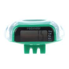 NEW-LCD цифровой мульти шагомер Шаговая дистанция счетчик калорий бег фитнес-зеленый
