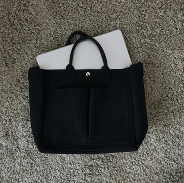 2019 new Pu Leather laptop Bag Simple Handbags Famous Brands Women Shoulder Bag Casual Big Tote Vintage Ladies Crossbody Bags 4
