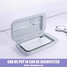 UV Sterilizer Box Portable Mask UV Sterilizer Disinfectant box Cabinet Gloves Cleaner Mobile Double Ultraviolet Phone box