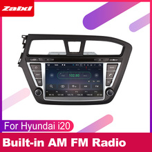 ZaiXi For Hyundai i20 Elite i20 2014~2019 LHD Car Android Multimedia System 2 DIN Auto DVD Player GPS Navi Navigation Radio WiFi цена 2017