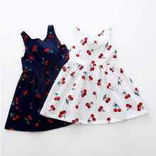 New summer babys Dress Toddler Girls Summer Princess Dress Kids Baby Party Wedding Sleeveless Dresses 2015 summer new stylish kids toddler girls princess dress sleeveless polka dots bowknot dress top quality cute