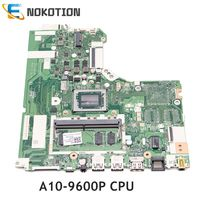NOKOTION Laptop Moederbord Voor Lenovo IdeaPad 320-15ABR DG526 DG527 DG726 NMB341 NMB-341A10-9600P CPU volledige test