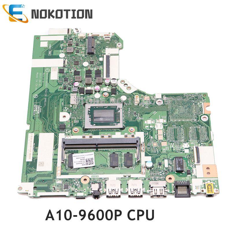 NOKOTION Laptop Motherboard For Lenovo IdeaPad 320-15ABR  DG526 DG527 DG726 NMB341 NMB-341A10-9600P CPU Full Test