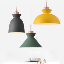 Современный подвесной светильник в скандинавском стиле лампа