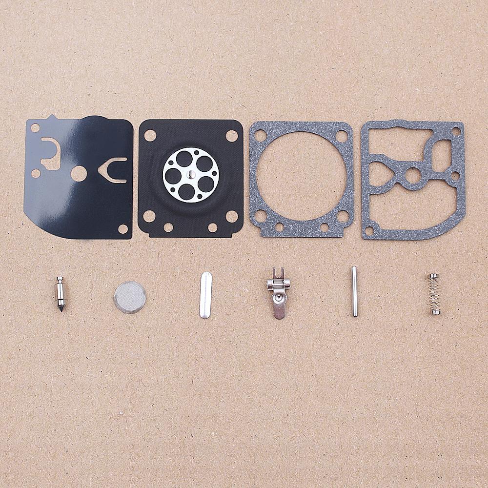 Carburetor Carb Repair Rebuild Kit For ZAMA RB-129 C1M-W26 W26A / W26B / W26C Series Tool Replacement Spare Part