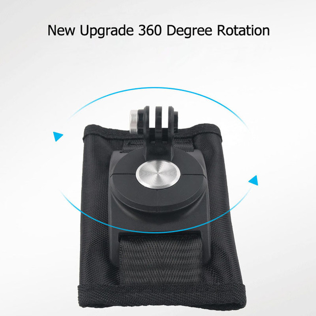Sindax Sports Camera Backpack Clip Mount 360 Degree Rotary For Xiaomi Yi 4k Gopro Hero 7 6 5 4 Action Camera Accessories 2