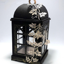 Elegant Lantern With Lid Metal Cutting Dies Stencils for DIY Scrapbooking Stamp/photo album Decorative Embossing DIY Paper Cards