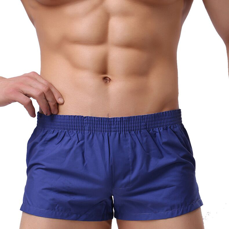 Underwear Men Panties Boxer-Shorts Men's Cotton Interior Ropa Hombre title=