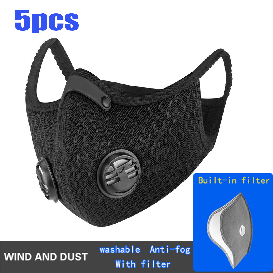 5-Layer Activated Carbon Nylon Cycling Face Mask - uncategorized, face-masks - Hde1b4a0a1fae4d0c894c987c2c9cedc1Q