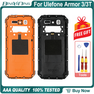 Image 2 - 100% New Original For Ulefone Armor 3/3T Battery cover Back housing case with NFC Wireless Charging Camera lens Phone Accessory