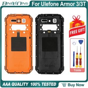 Image 2 - 100% ใหม่สำหรับUlefone Armor 3/3Tฝาครอบด้านหลังพร้อมNFCไร้สายชาร์จกล้องเลนส์โทรศัพท์อุปกรณ์เสริม