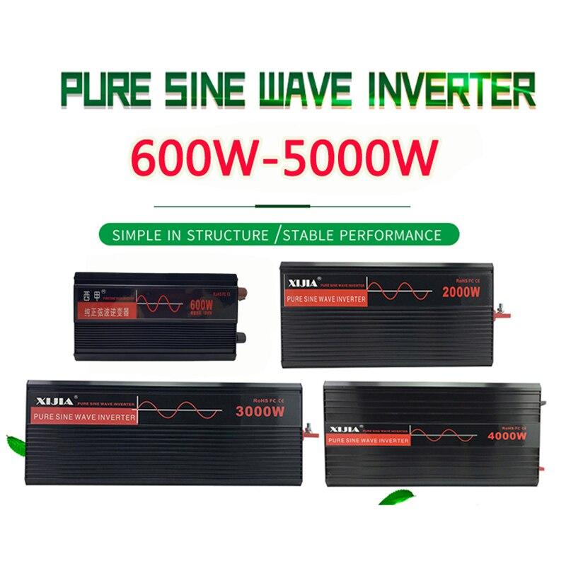 Reine Sinus Welle Inverter Power Inverter DC12V/24 V/48 V/60 V/72 V Zu AC 110 V/120 V/220 V/230 V/240 V Konverter Werkzeug Für Haus/ Boot/Solar