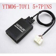 Yatour for Toyota Lexus1998 2004 Car Digital  Music Changer USB MP3 AUX adapter IS 200/250 GS 300/430  GX 470 LX470 RX300 LS 430
