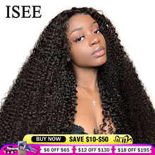 Perruque Lace Frontal Wig 150% mongole naturelle ISEE HAIR