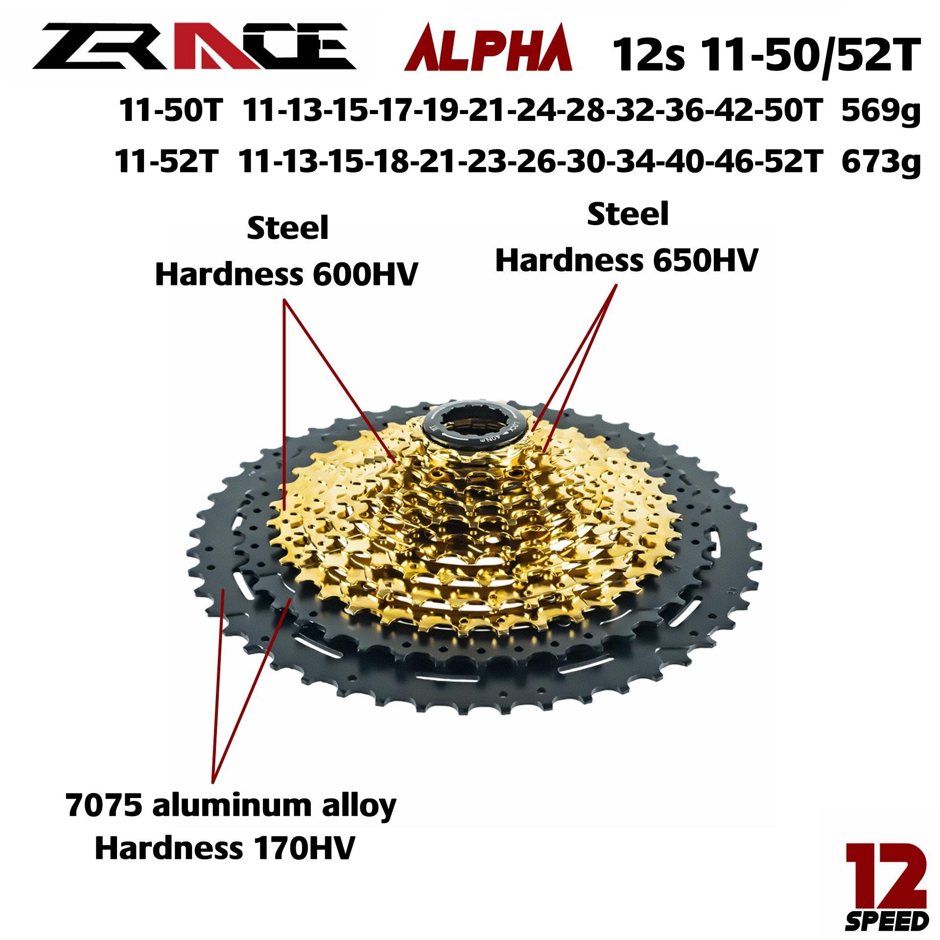 Image 5 - Zrace x ltwoo at12 12 velocidade cárter + shifter + desviador traseiro 12s + alpha cassette 52 t/chainrings + corrente águia gx/m9100Desviador de bicicleta   -