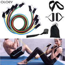 Pull Rope Fitness Exercises Resistance Bands Latex Pedal Excerciser Body Training Workout Yoga Rubber Loop Tube Sport Equipment
