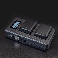 NP FW50 kamera batterie ladegerät npfw50 fw50 LCD USB Dual Ladegerät für Sony A6000 5100 a3000 a35 A55 a7s II alpha 55 alpha 7 EIN-in Ladegeräte aus Verbraucherelektronik bei