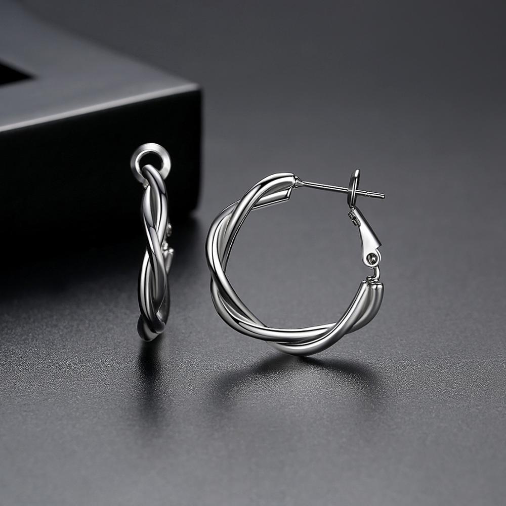 LUOTEEMI-Minimalist-Twist-Type-Round-Earrings-for-Women-Girls-Party-Dating-Korean-Femme-Fashion-Jewelry-Brincos (4)
