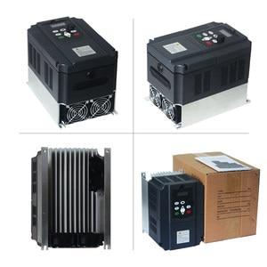 Image 5 - VFD 5.5KW nuevo inversor motor de eje de CNC control de velocidad 220V 5.5KW 20A 220v 1P entrada 3P fuera inversor de frecuencia para motor