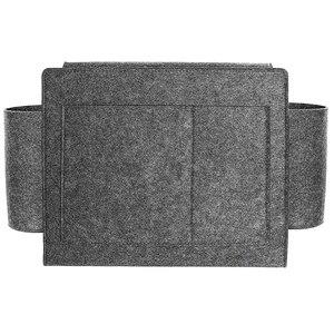 Фетровая прикроватная подвесная органайзер, очень большая кровать для хранения, карманы, держатель, Книжная сумка для хранения телефона, дл...