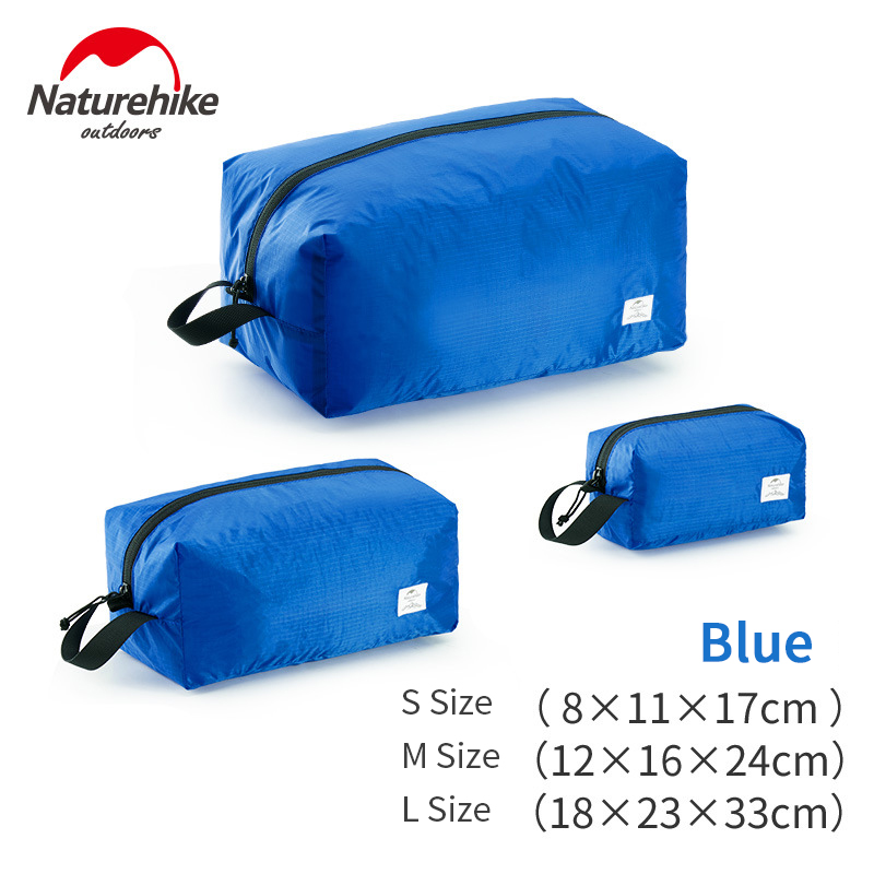 Naturehike Travel Storage Bag 3 In 1 Clothes Waterproof Bag Foldable Pouch 4-Season Travel Multi-function Baggage Sorting Bag