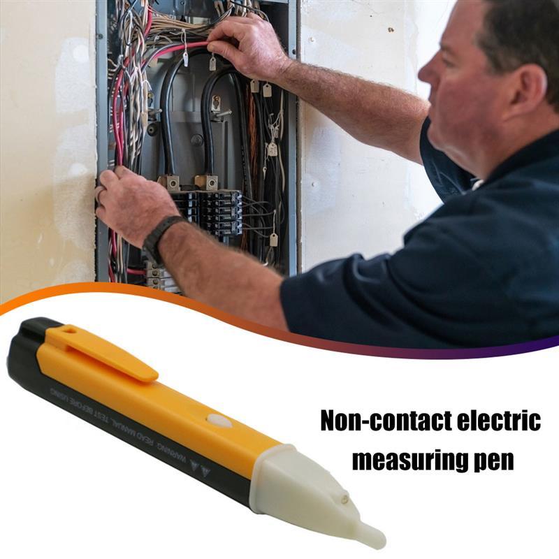 Бесконтактный Электрический тест-карандаш светодиодный рабочий светильник портативный тестовый er ручка для переменного тока 90в-1000в