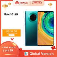 Original Huawei Mate 30 Smartphone 40MP Triple Hinten Kameras 6,62 ''Full Screen Kirin 990 27W Drahtlose QC