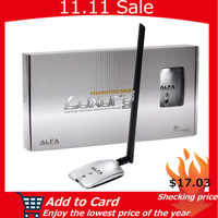 AWUS036NH de luxe ALFA adaptateur réseau Ralink3070L 2.4Ghz haute puissance sans fil USB Wifi adaptateur 2 * 8dBi antenne avec longue portée
