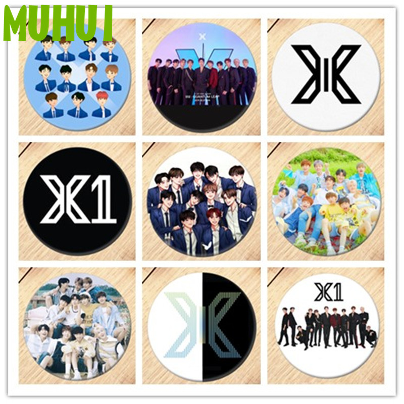 1pc Kpop X1 X ONE Brooch Pin Pins Badge Accessories For Clothes Backpack Decoration 19425