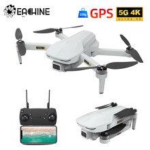 Eachine EX5 RC Quadcopter 30 minutos tiempo de vuelo MINI autofoto Drone 5G WIFI FPV GPS con 4K cámara de Motor sin escobillas plegable Dron