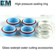 Уплотнительное кольцо высокого давления для водоструйной резки. Аксессуары для водоструйной резки стекла.