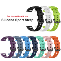 Silicone Wrist Strap For Huawei Honor Band 4 pro Smart Sport Bracelet Strap For Huawei Honor Band 3 pro Standard Version Film