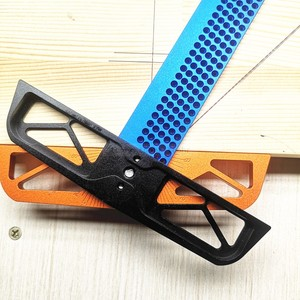 Image 3 - 300/400mm Adjustable angle Woodworking T Ruler Hole Positioning Crossed Marking Gauge Aluminum Alloy Scriber Measuring Tool