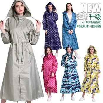 Waterproof Nylon Raincoat Women Plastic Long Hiking Ladies Hooded Raincoat Overall Outdoor Impermeable Poncho Outdoor JJ60YY