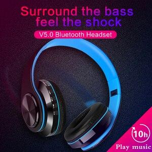 Шумоподавление беспроводные Bluetooth наушники спортивные наушники телефон наушники с микрофоном FM радио игровая гарнитура для IOS/Android/Win