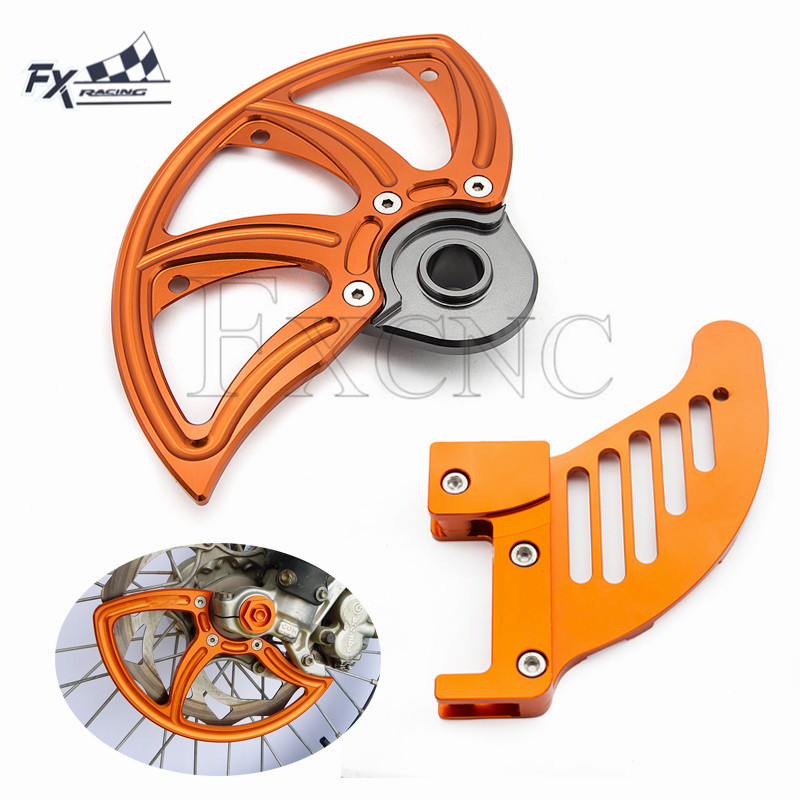 22mm CNC Front Rear Brake Disc Guard For For <font><b>KTM</b></font> XCW/XCF-W/EXC/EXC-F/6 Days 2013-2019 2014 2015 2016 <font><b>2017</b></font> 2018 image