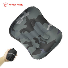 цена на Inflatable Outdoor Camping Pillow Ultralight Travel Pillows Portable Pillow Travel Cushion PVC Sided Cushion