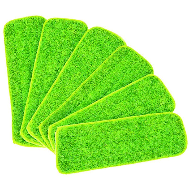 Fashion6 pieces Reveal Mop Cleaning Wet Pad For All Spray Mops & Mops Washable|Mops| |  - title=