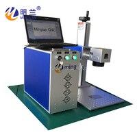 China MLF-50W máquina da marcação do laser gravar em lasca de ouro de alumínio de cobre de plástico