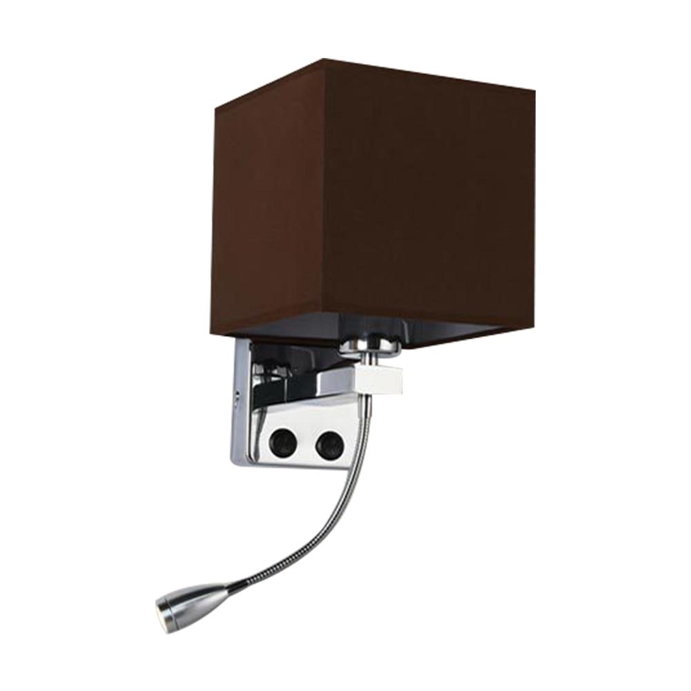 Современный монтируемый на поверхность настенный светильник для кабинета, для дома, с защитой глаз, для спальни, прикроватной тумбочки, для