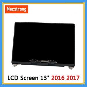 Image 1 - Новый полноэкранный ЖК дисплей A1706 A1708 в сборе для Macbook Pro Retina 13 дюймов, сменный экран A1706 A1708, серый/серебристый, EMC 3163 3071