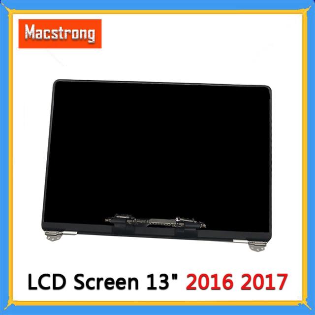 Новый полноэкранный ЖК дисплей A1706 A1708 в сборе для Macbook Pro Retina 13 дюймов, сменный экран A1706 A1708, серый/серебристый, EMC 3163 3071