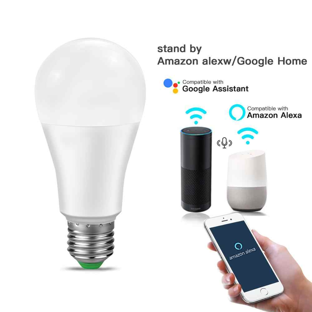 Led Smart Home Lamp Smart Lamp Wifi Lamp Verlichting 110V 220V Werk Met Alexa En Google Home Assistent/Bluetooth Voice Control
